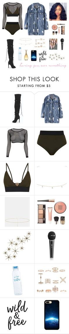 """""""Untitled #1265"""" by blerta-817 ❤ liked on Polyvore featuring Boohoo, Miss Selfridge, ASOS, Debenhams, Global Views, New Look and Christian Dior"""