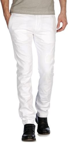 Diesel Tightd in White for Men | Lyst Men Trousers, Pure White, Diesel, Sweatpants, Pure Products, Clothes For Women, Shopping, Fashion, Diesel Fuel