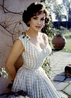 Gina Lollobrigida - She was one of the most popular European actresses of the 1950s and early 1960s.