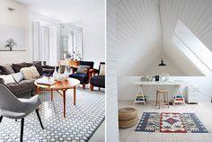 tapetes decoração - Google Search