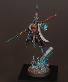 Sproket's Small World: Eldar Farseer Warhammer Fantasy, Warhammer 40k, Eldar Farseer, Eldar 40k, Infinity The Game, Mini Paintings, Artist Painting, Projects To Try, Table Lamp
