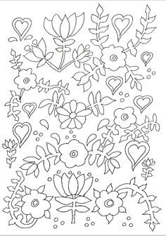 See More Beautiful Flowers Beautifully Drawn For A Complex Coloring Page Which Patience And Attention To Detail