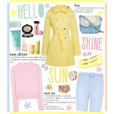 Pretty Pastel Trench Coats.