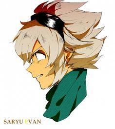 Saryuu Evan - Inazuma Eleven GO - Image - Zerochan Anime Image Board Inazuma Eleven Go, Soccer World, Best Series, Image Boards, Images, Fan Art, Stone, Gallery, Fictional Characters