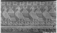 Border Date: 16th century Culture: Italian (Sicily) Medium: Embroidered net Accession Number: 20.186.360