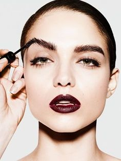 Expert Advice: Full, groomed brows make you look younger and actually allow you to wear less makeup, but it's important they look natural--not painted on.