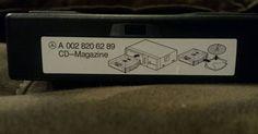 Genuine Mercedes Benz 6 CD  Changer Magazine A0028206289 #OEM