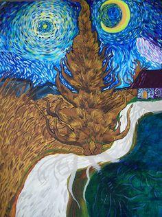 'Duality' - 30x40 - Acrylic on canvas - 2008