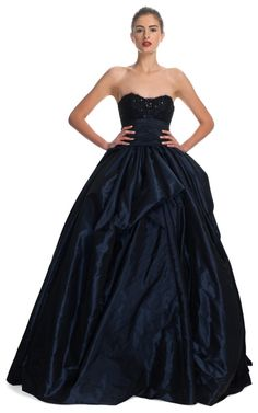 Sculpted Taffeta Ball Gown by Marchesa for Preorder on Moda Operandi $8900