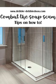 This magical soap scum remover is going to change the way you never have soap scum again on your shower doors planetlyrics Choice Image