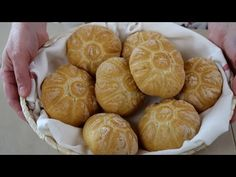 ROSETTE DI PANE - RICETTA DEL PANE FATTO IN CASA - Homemade Bread Recipe - YouTube