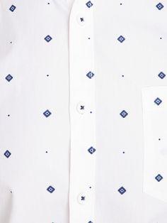 Buy HIGHLANDER Men White Slim Fit Printed Casual Shirt - Shirts for Men | Myntra