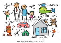 family at the beach clipart - Google Search