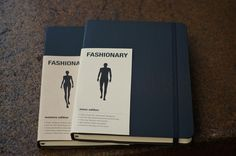 Fashionary – Men's and Women's Sketchbook