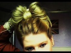 EASY HAIR TUTORIAL: CUTE HAIR BOW (HOW-TO) IN 2 MINUTES! VERY EASY! FOR MEDIUM TO LONG HAIR.