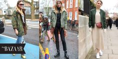 Trending Now In Our Store: The Khaki Jacket  - HarpersBAZAAR.com