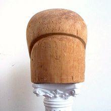 Vintage Hat Block  Flapper Cloche Milliner's Form