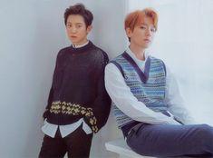 EXO Universe Digital Booklet - Chanyeol and Baekhyun Park Chanyeol Exo, Baekhyun Chanyeol, Namjin, Jikook, Exo Chanbaek, Exo Album, Xiuchen, Kim Jong Dae, Wattpad