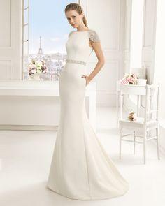 2016 ELOISA TWO ROSA CLARA (Vestido de Noiva). Estilista: Rosa Clará. ...
