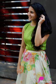 Edge: Skirts & Dresses - House of Ayana Long Skirt Top Designs, Long Skirt And Top, Long Dress Design, Dress Neck Designs, Wedding Lehenga Designs, Kurti Designs Party Wear, Frock Fashion, Women's Fashion, Western Wear Dresses