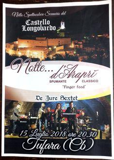 #bollicine sotto le stelle #nottedAraprì al #castelloditufara domenica 15 luglio #enjoydarapri