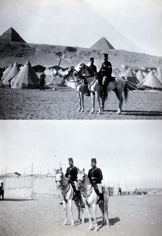 Mounted Egyptian Police Troopers, 1914-1915