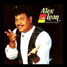 NUEVO HORIZONTE - ALEX LEON (1987) Tracklist:  1.  Mi verdadero amor 2. Tercer pais 3. La hora de brindar 4. Sexo y fuego 5. Ceniza fria 6. Sin hora y sin tiempo 7. Tu placer esta en amar 8. Titi mania