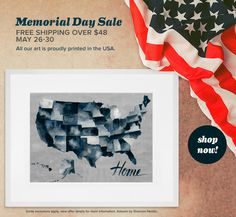 Celebrate Memorial Day with us and save on shipping all across our great nation! Spend over $48 and we'll ship your order for free. Shop now!