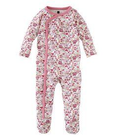 This Chalk Floral Kleiner Vogel Footie - Infant by Tea Collection is perfect! #zulilyfinds