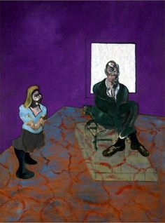 Man and Child Francis Bacon 1963 Oil on canvas, 197.5 x 147.7 cm Louisiana Museum of Modern Art, Humlebæk, Denmark