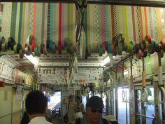 washi tape + public transportation in japan.