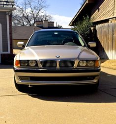 '98 E38 with new chrome grilles