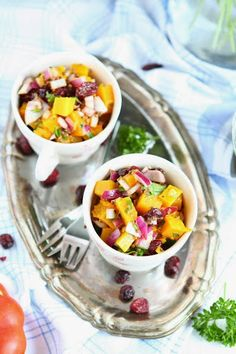 Pumpkin and Cranberry Salsa | Recipes and Family