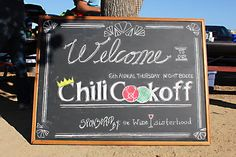 Wine Sisterhood sponsored bocce chili cookoff!