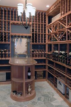 Chicago home wine cellar, Milbury Architects, Ltd.