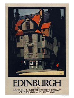 Posters like this are currently on show as part of a special exhibition at Edinburgh's National Museum of Scotland
