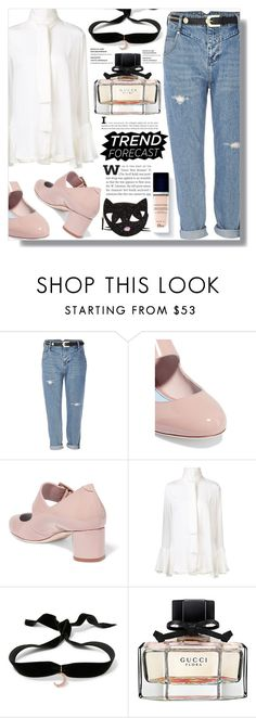 """""""Charming Parfume"""" by luna-jancek ❤ liked on Polyvore featuring beauty, River Island, Lanvin, E L L E R Y, Aamaya by priyanka, Christian Dior, Gucci and Lulu Guinness"""