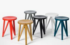 Really like the JL 1 Faber Stool from German company Loehr.