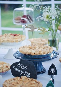 Catering: Treats Of Maine - http://www.stylemepretty.com/portfolio/treats-of-maine Photography: Cuppa Photography - cuppaphotography.com   Read More on SMP: http://www.stylemepretty.com/2012/09/25/backyard-maine-wedding-from-cuppa-photography/