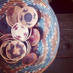 Hand woven baskets - @she__cant__decide-