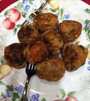 -- TheArmenianKitchen.com -- Everything about Armenian food: Lamb Meatballs with Yogurt Sauce