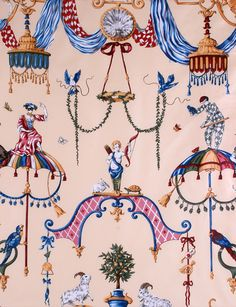 Scalamandre Venetian Carnival