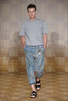 Tillmann Lauterbach - Men Fashion Spring Summer 2015 - Shows - Vogue.it