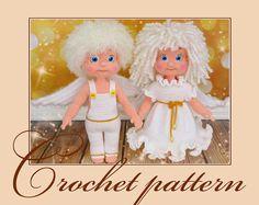 Angels-Amigurumi Crochet Pattern PDF file by Anna by KnittLife