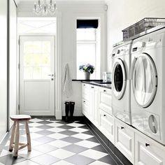 #tvättrum #tvättstuga