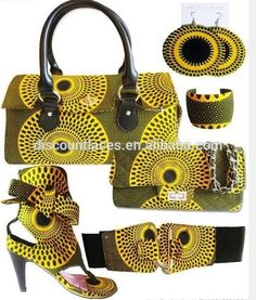 Classy African Print Accessories: Ankara Shoes, Bags, Purses, Necklaces, Earrings And More! African Attire, African Wear, African Women, African Dress, African Style, African Inspired Fashion, African Print Fashion, Africa Fashion, African Prints