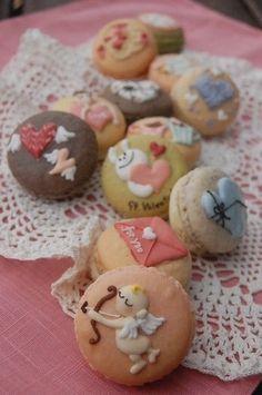 Valentine Macaron     ble-nature.com