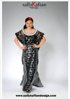 Pearl ''Margaret '' Moroccan Kaftan/Caftan/ Abaya. Order from www.sallykaftandesign.com