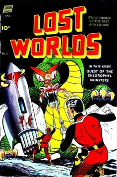 Cover for Lost Worlds (Pines, 1952 series) #5