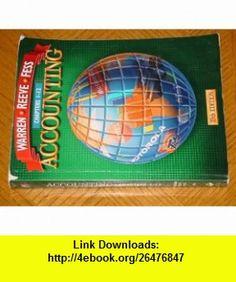 Accounting (Chapters 1-12) (9780538874113) Carl S. Warren, James M. Reeve, Philip E. Fess , ISBN-10: 0538874112  , ISBN-13: 978-0538874113 ,  , tutorials , pdf , ebook , torrent , downloads , rapidshare , filesonic , hotfile , megaupload , fileserve